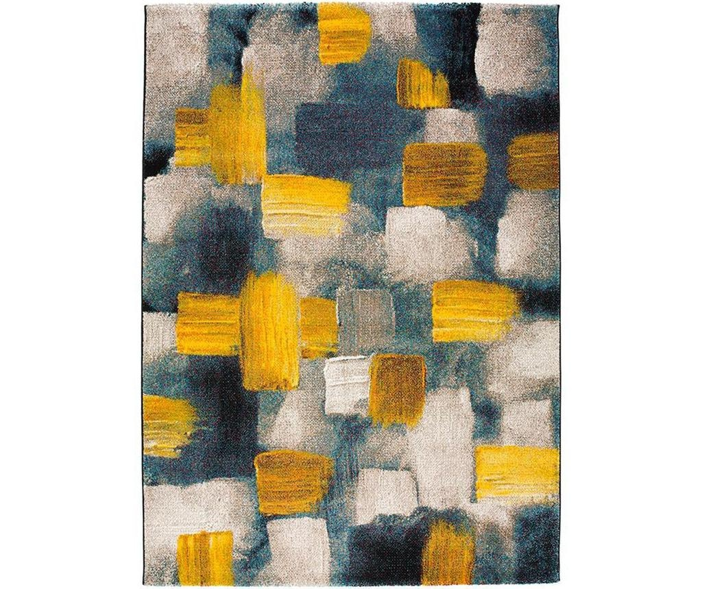 Covor Squares Yellow 160x230 cm