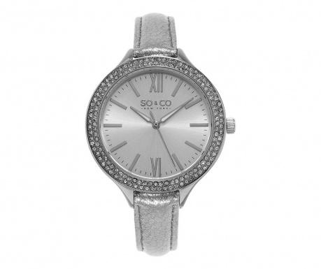 Ceas de mana dama So&Co SoHo Studded Silver