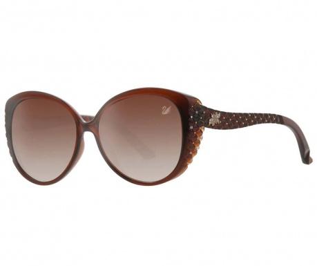Ženska sončna očala Swarovski Round Braid