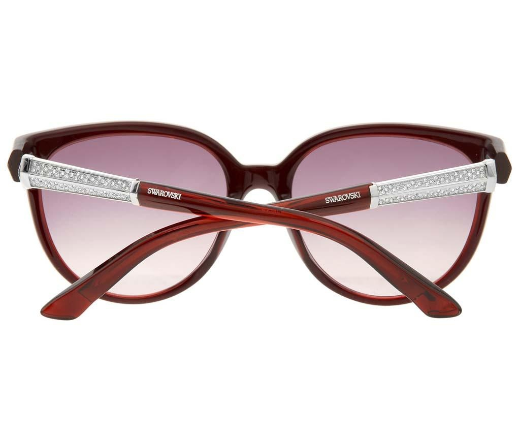 Дамски слънчеви очила Swarovski Butterfly Bordeaux