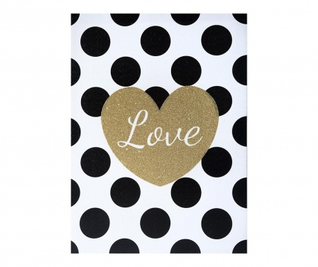 Slika Dotty Love 30x40 cm