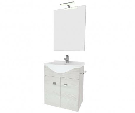 Комплект мебели за баня 3 части Zafirro White