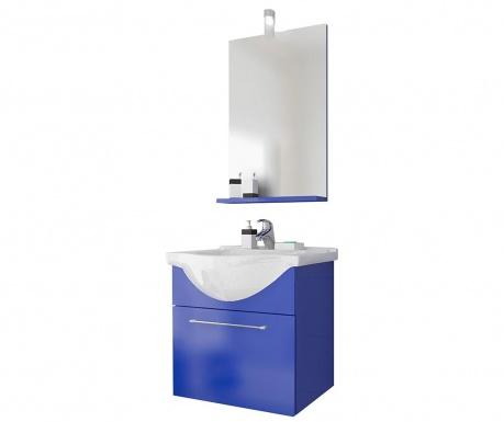 Комплект мебели за баня 3 части Ginerva Blue