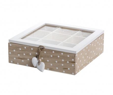 Кутия с капак за чай Mikel
