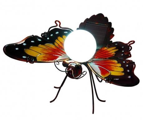 Lampa solara Orange Butterfly Borders