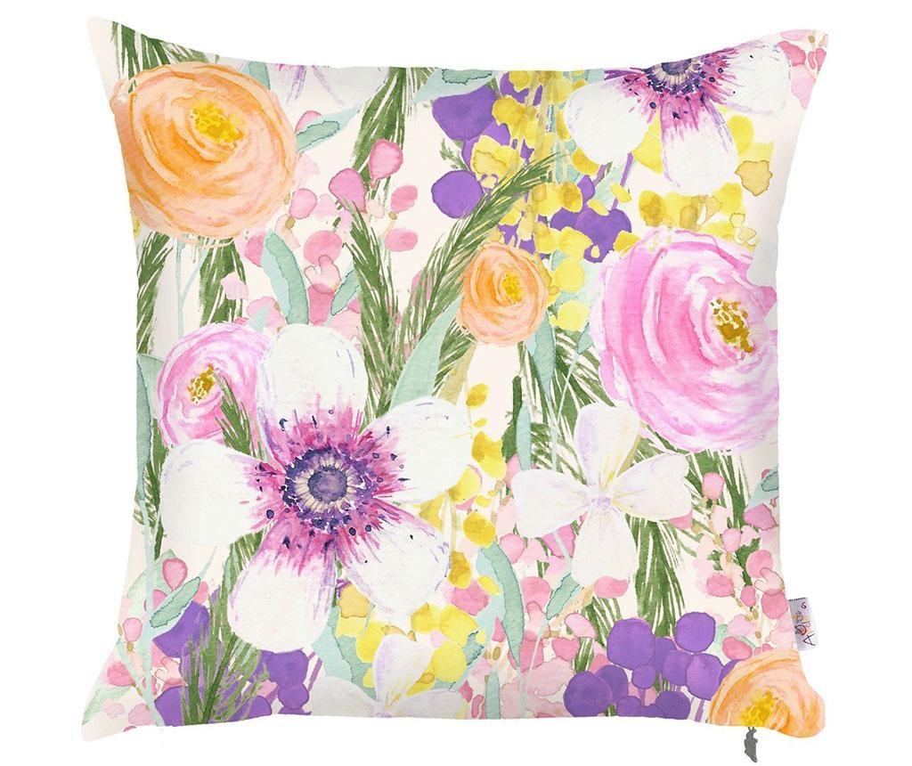 Obliečka na vankúš Colored Petals 43x43 cm