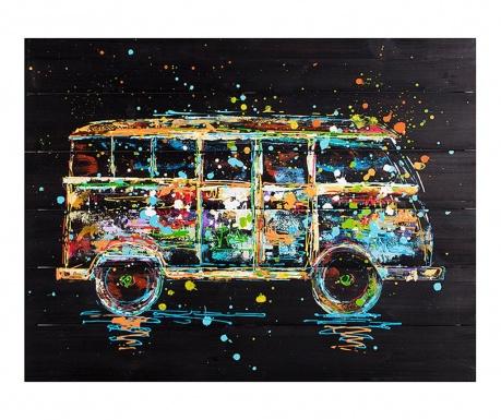 Tablou Club Bus 60x80 cm