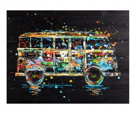 Club Bus Kép 60x80 cm