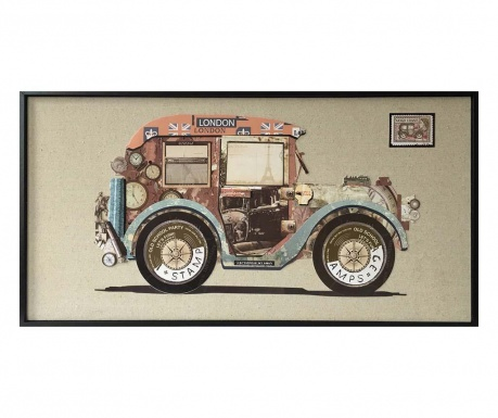 Old Car Kép 42x82 cm