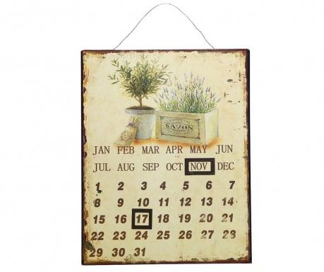 Zidni kalendar Lavender