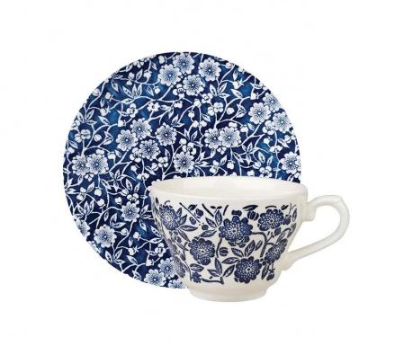 Sada šálek s podšálkem Victorian Blue & White