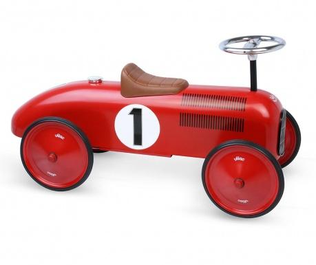 Autíčko bez pedálů Red Vintage
