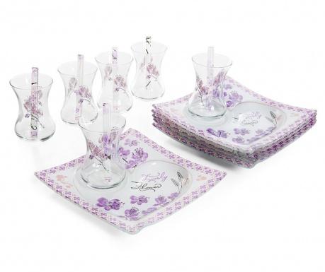 Сервиз за маса 18 части Aline Purple