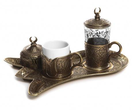 Serim Old Gold 5 darabos Kávéskészlet