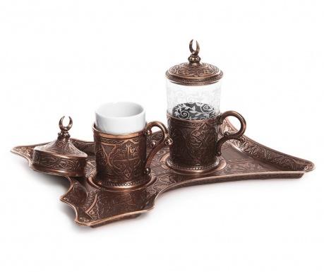 Сервиз за кафе 5 части Canan Copper