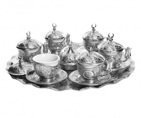 Aydin Silver 21 darabos Kávéskészlet