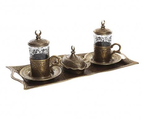 Khali Old Gold 9 darabos Kávéskészlet