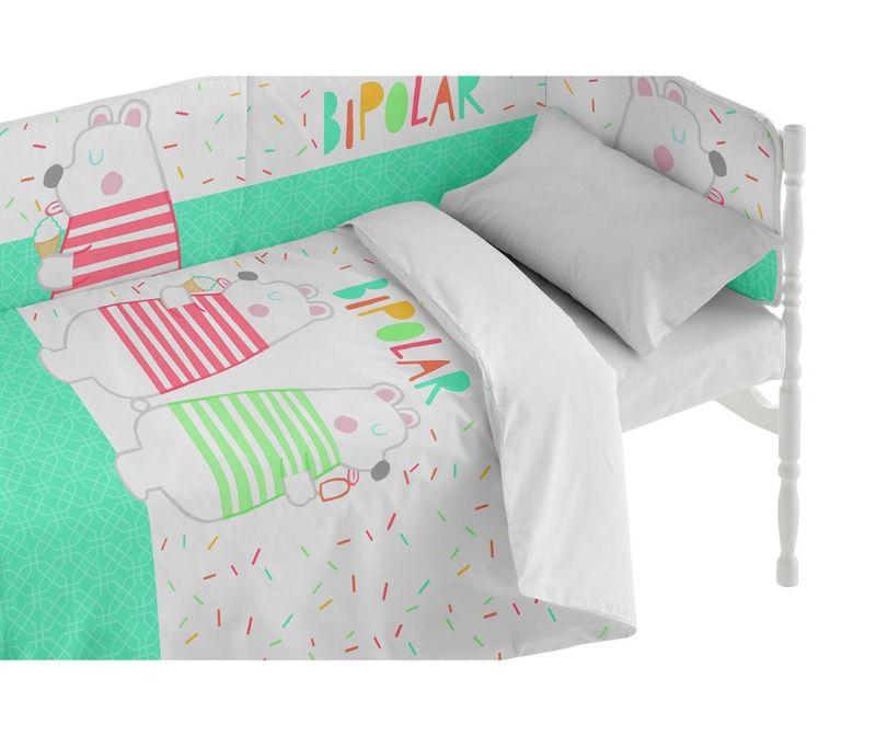 Posteljina za krevetić Bear