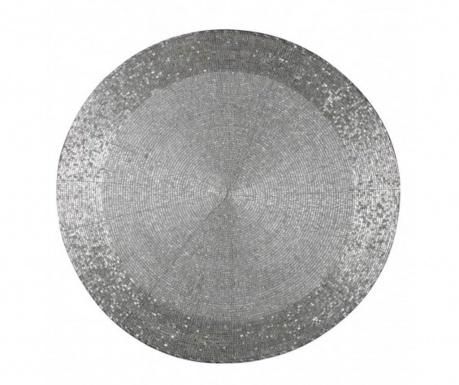 Σουπλά Beads Silver 36 cm