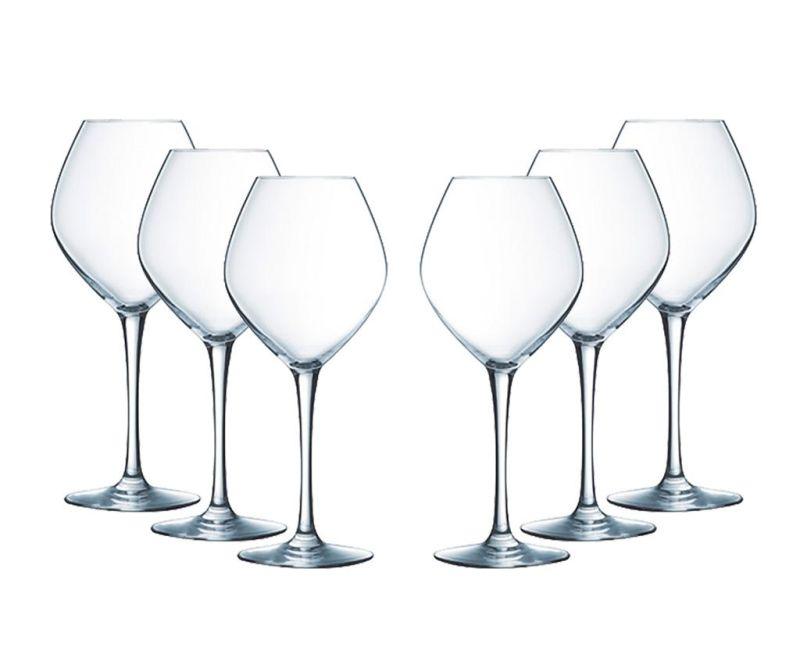 Set 6 kozarcev za vino Sentiments 350 ml