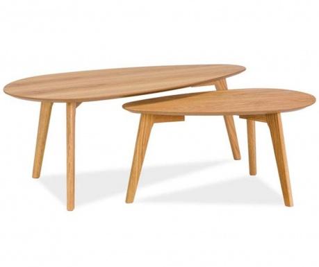Sada 2 konferenčných stolíkov Astrid Design