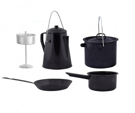 4-delni set posode za kuhanje Camping