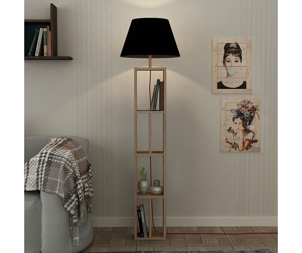 Samostojeća svjetiljka Giorno Natural Black