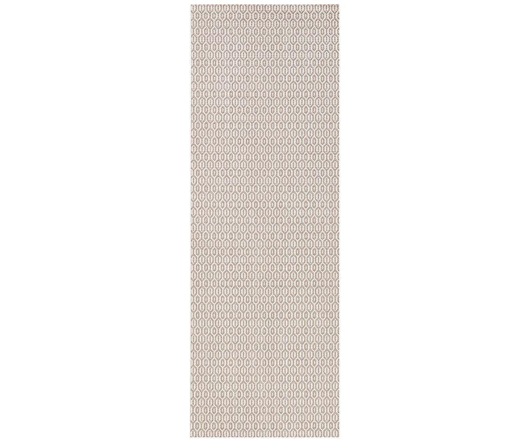 Tepih za vanjski prostor Meadow Coin Grey 80x200 cm