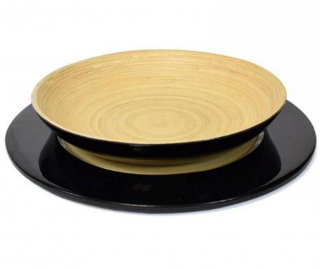 Сервиз за маса 2 части Bamboo Life Black