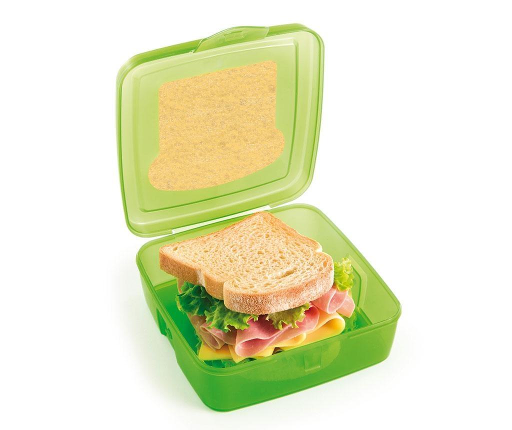 Energy Sandwich Green Ételtároló 500 ml