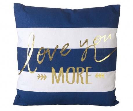 Poduszka dekoracyjna Love You More 44.5x44.5 cm
