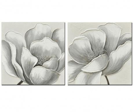 Fleya Flor 2 db Kép 60x60 cm