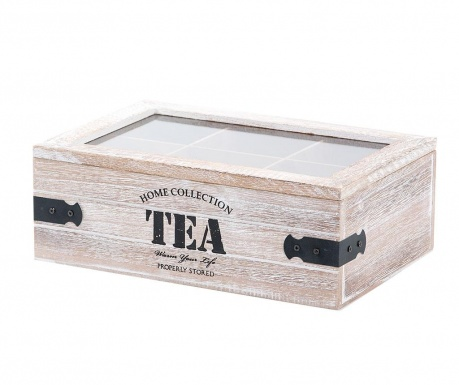 Krabice s víkem na čaj Home Collection Six