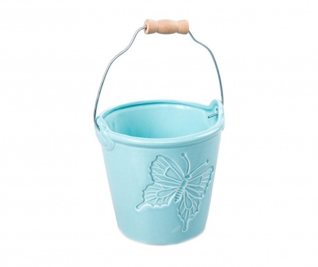Cvetlični lonec Butterfly Bucket Blue