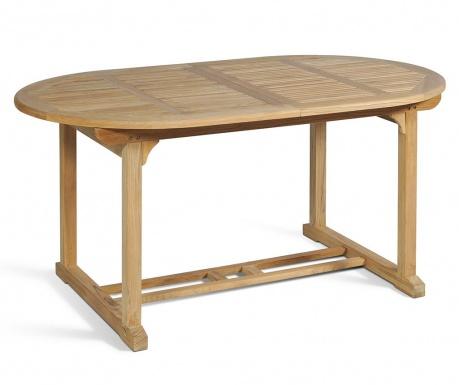 Produživi stol za vanjski prostor Solo Oval