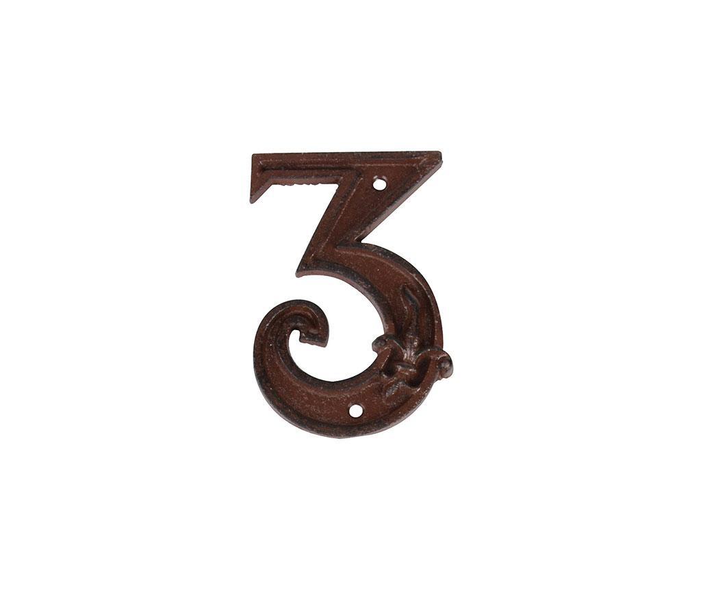 Номер за къща Three