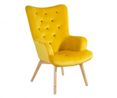 Fotel Nordica Yellow