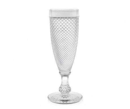 Sada 6 sklenic na šampaňské Diamanto 160 ml
