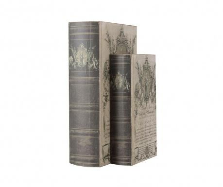 Set 2 cutii tip carte Kimber