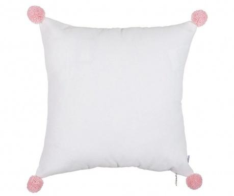 Prevleka za blazino Clover White and Pink 41x41 cm