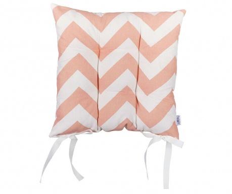 Jastuk za sjedalo Pink Waves 37x37 cm
