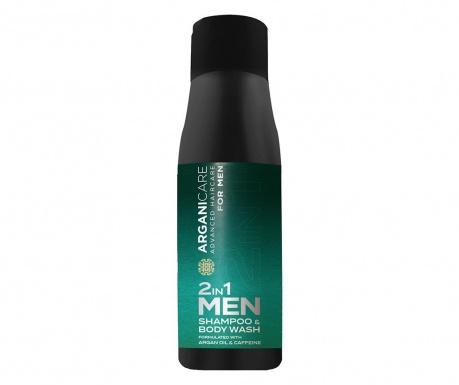 Šampon in gel za prhanje 2 v 1 za moške Arganiman 500 ml