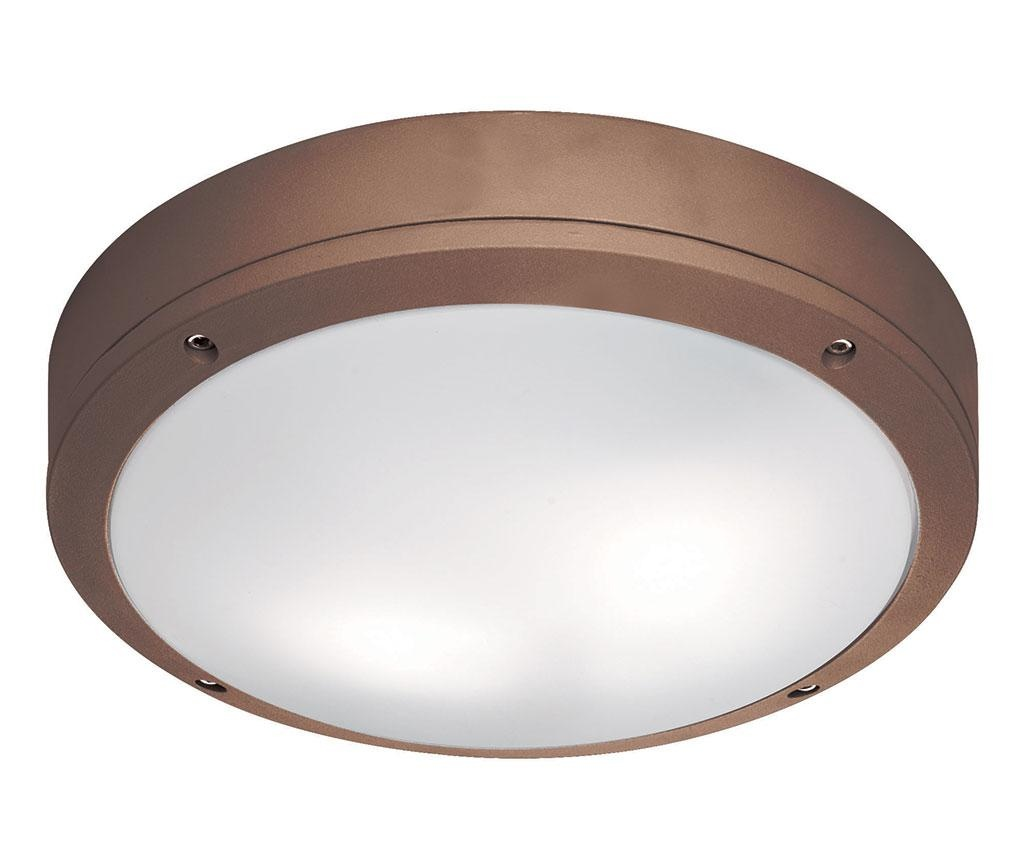 Leros Round Brown Kültéri mennyezeti lámpa