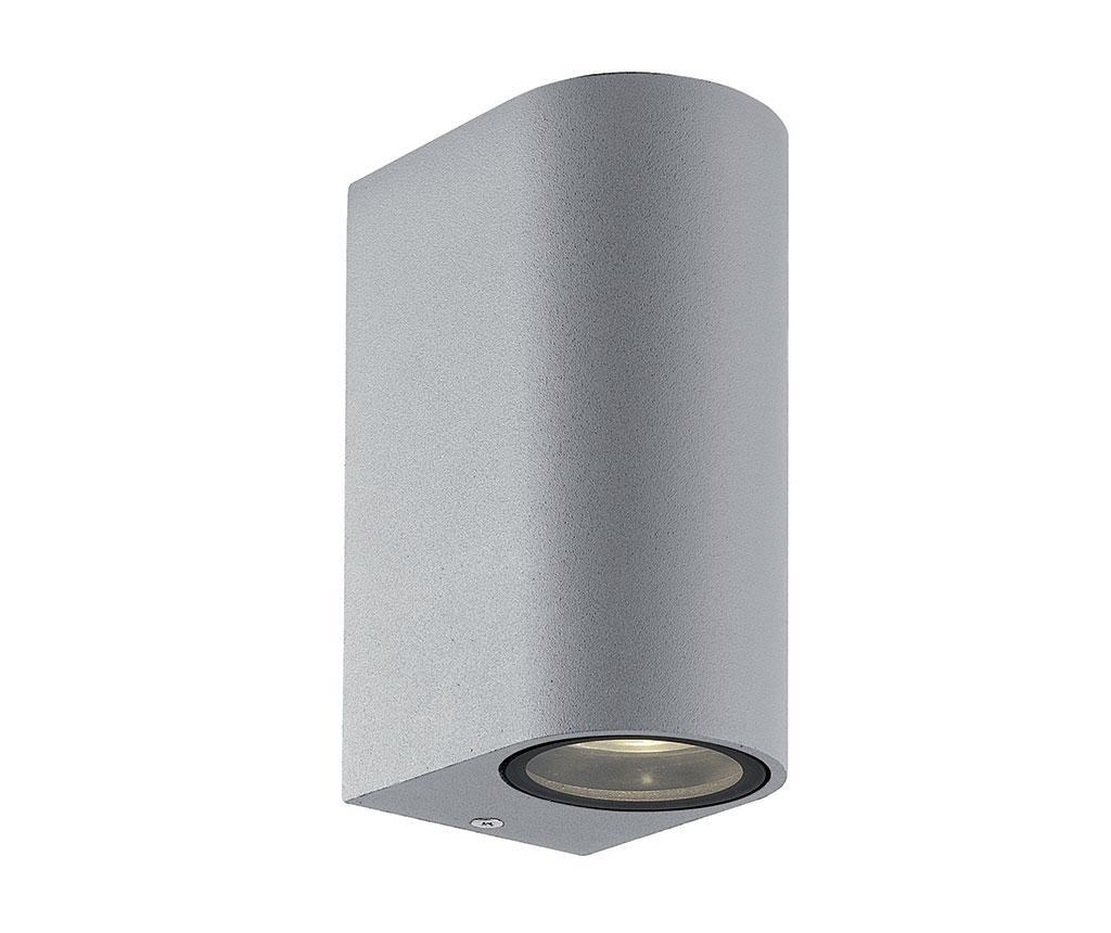 Vanjska zidna svjetiljka Tilos Gliss Tall Silver