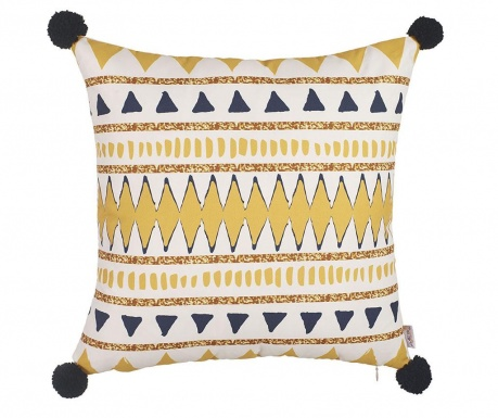 Jastučnica Yellow Pyramids 43x43 cm