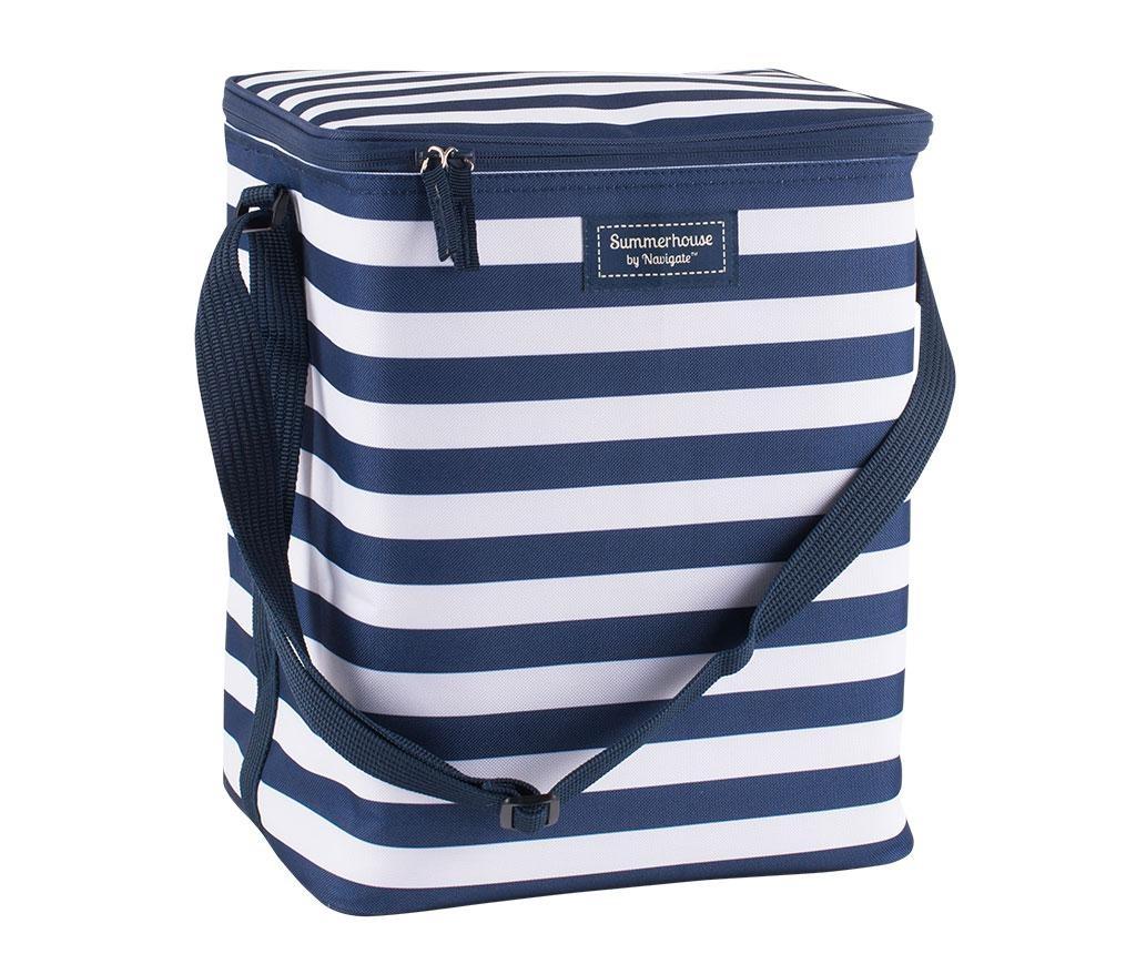 Coast Navy Stripes Family Hőszigetelt táska 20 L