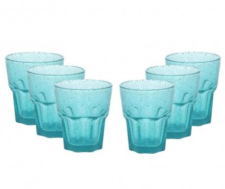 Trinidad Turquoise 6 db Pohár