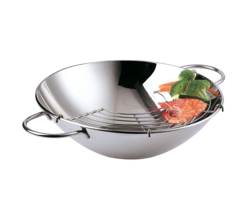 Wok posuda za kuhanje Simple 30 cm