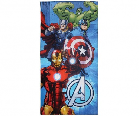 Кърпа за баня Avengers Metal 75x150 см