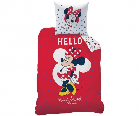 Set de pat Single Ranforce Disney Minnie Hello